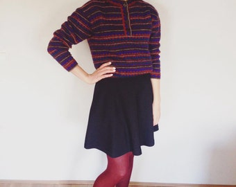 Missoni Sweater Womens Pullover Size S Cropped Sweater Haute Couture Fashion Made in Italy Hight Fashion Haute Couture
