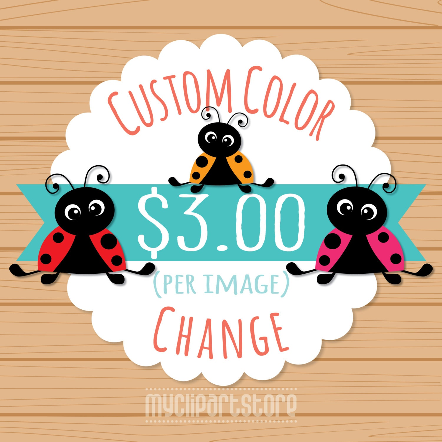 Custom Color Change For 1 One Non-exclusive Clipart Custom
