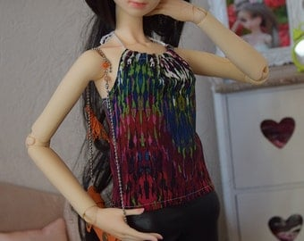 SD13 ~ Colorful backless top | BJD