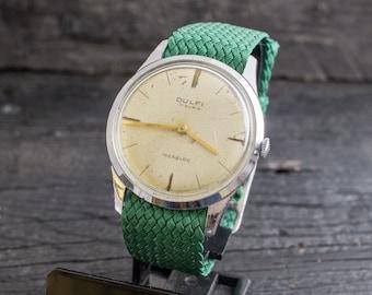 Vintage Dulfi mens watch, vintage swiss watch