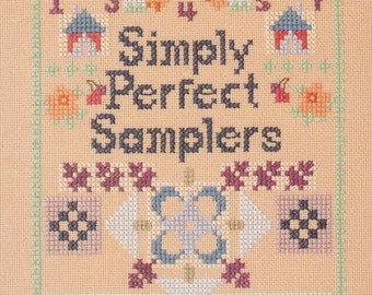 Cross Stitch Samplers Pattern Cards - General Instructions Card - Meredith Corporation
