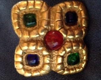 Sale - Stunning Vintage Italian Brooch Pin
