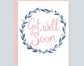 navy get well card etsy