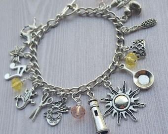 Tangled Charm Bracelet