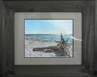 8x10 Driftwood Frame Etsy