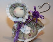 Bo Peep mouse Needle felted mouse Dressed Mouse Felt Mouse by JaynesLoveDoves