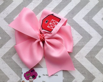 Barn Hair Bow