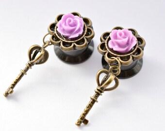 Lilac Key Plugs 12mm