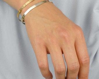 Personalized Gift for mom gift, Personalized Cuff Bracelet, Custom Cuff Bracelet, name bracelet, bar bracelet Inspirational Bracelet Bangle