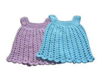 Baby Pinafore Dress or Sundress * 3-6 months * Cotton * Made in Ireland