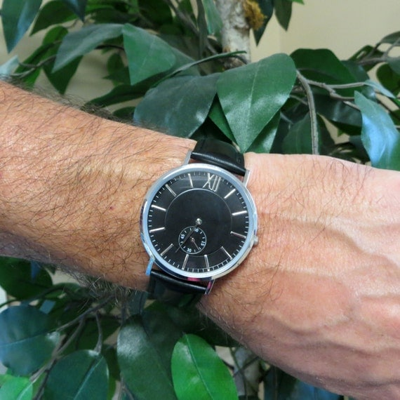 Mens personalized wrist watch gifts for men by tiposcreations for Personalized christmas gifts for men
