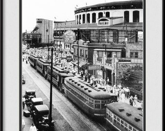 Old Wrigley Field Ballpark Picture