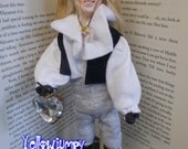 "Handmade unique Art Doll ""David Bowie playing Jareth"" A sincere homage to the ""Goblin King"""