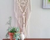 Macrame Wall Hanging, Wall Art, Fiber Art, Modern Macrame, Textile Art Home Decor, Wall Bohemian Style Decor, Driftwood
