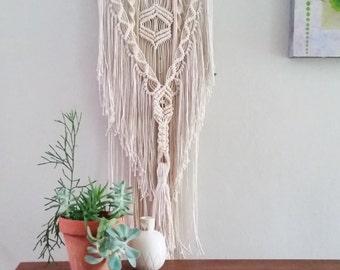 Macrame Wall Hanging, Wall Art, Fiber Art, Modern Macrame, Textile Art Home Decor, Wall Bohemian Style Decor
