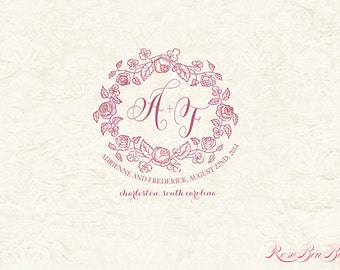 Custom Wedding Monogram - Wedding logo