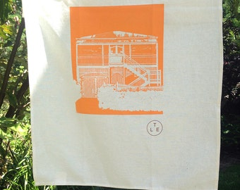 Annerley. | limited edition screen printed artwork on tea towel