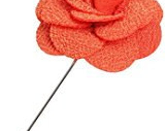 Boutonniere for Men Handmade Lapel Pin Flower