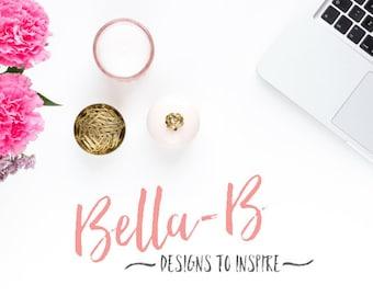 Custom Wordpress Website Design - Custom Website Service - Custom Blog Design by Bella-B
