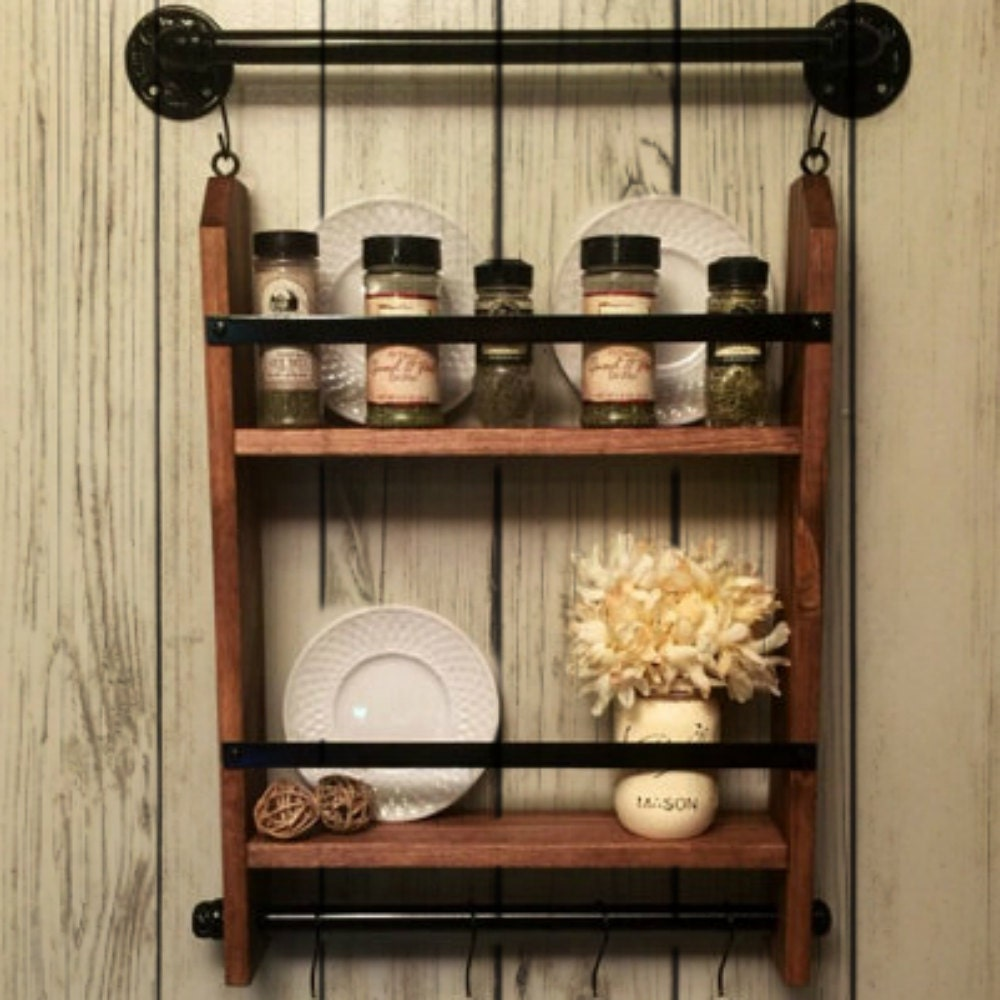 Kitchen Cabinet Spice Racks: Kitchen Spice Rack Spice Rack Shelf Spice Rack Organizer