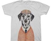 Dalmatian T-shirt, Unisex Tee, Apparel