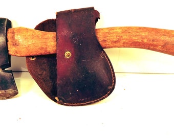 Winchester Hatchet and Sheath Vintage Boy Scout Ax