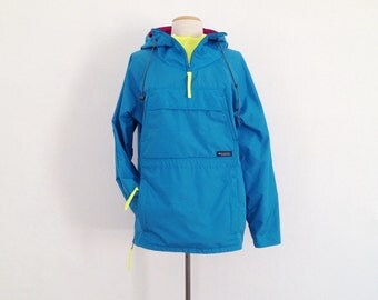 80s wind breaker 80s clothing windbreaker colorful jacket hooded