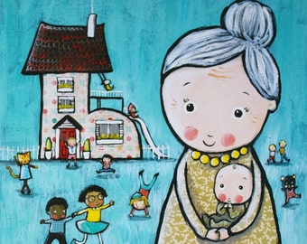 There was an Old Woman who Lived in a Shoe, hardback children's book.