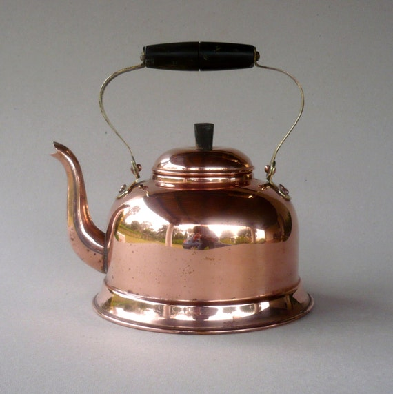 Vintage Copper Teapot 88