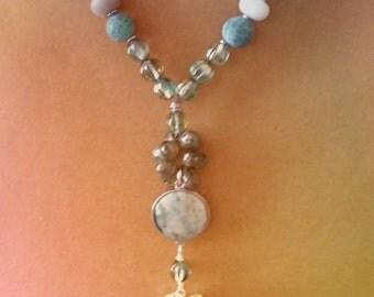 Bluesy Pendant Necklace