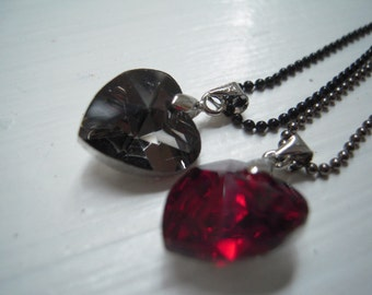 Heart pendent 2 colours