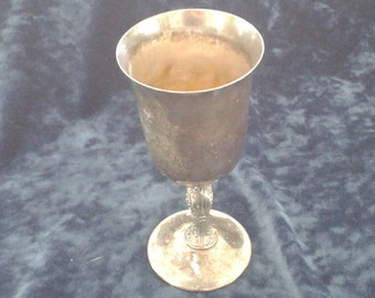 Vintage Silver Plated Chalice