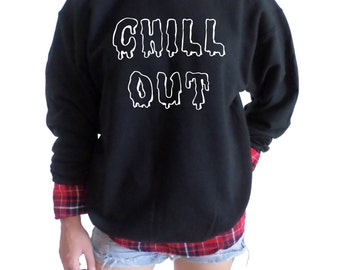 Chill Out Crewneck SweatShirt