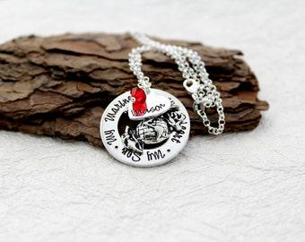 Marine Mom Necklace - Marine Mom Jewelry - Marine Mom Gift -USMC Necklace - Marine Corps Jewelry - Marine Necklace - Marine Jewelry - EGA