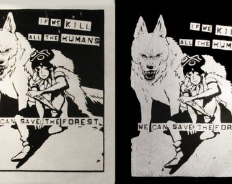Princess Mononoke Back Patch