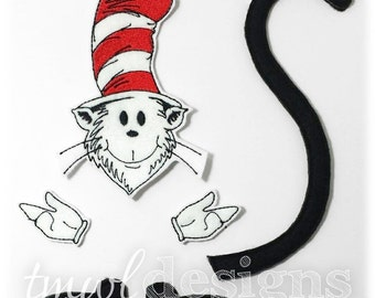 Hat Cat Bow Parts Digital Design File