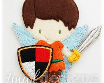Sword & Shield Felt Paper Doll Toy Accessories Digital Design File
