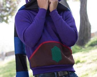 Legend of Zelda Link Between Worlds Ravio Cosplay Hoodie Jacket Costume