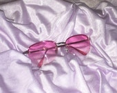 90s ROSE PINK sunglasses