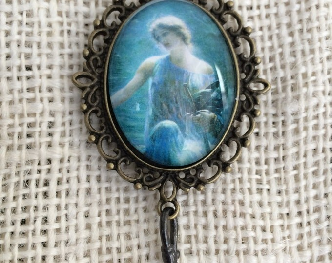 Knitting Pin - Magnetic Knitting Pin for Portuguese Knitting -  Lady