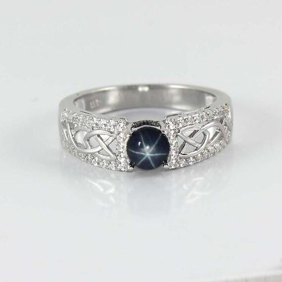 genuine star sapphire ring - photo #6