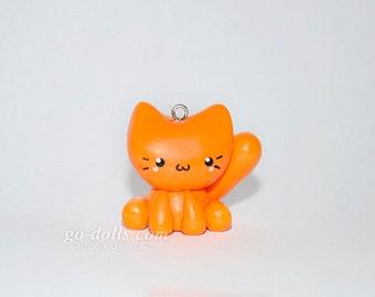 Kitty cat charm