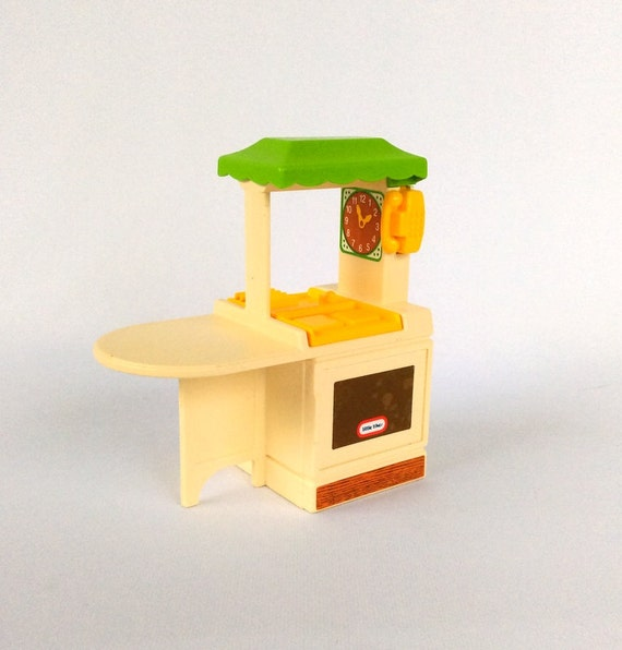 Vintage Little Tikes Kitchen 1980s Or 90s Dollhouse Furniture