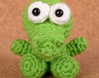 Mini Tik-Tok the Crocodile Crochet Toy Doll