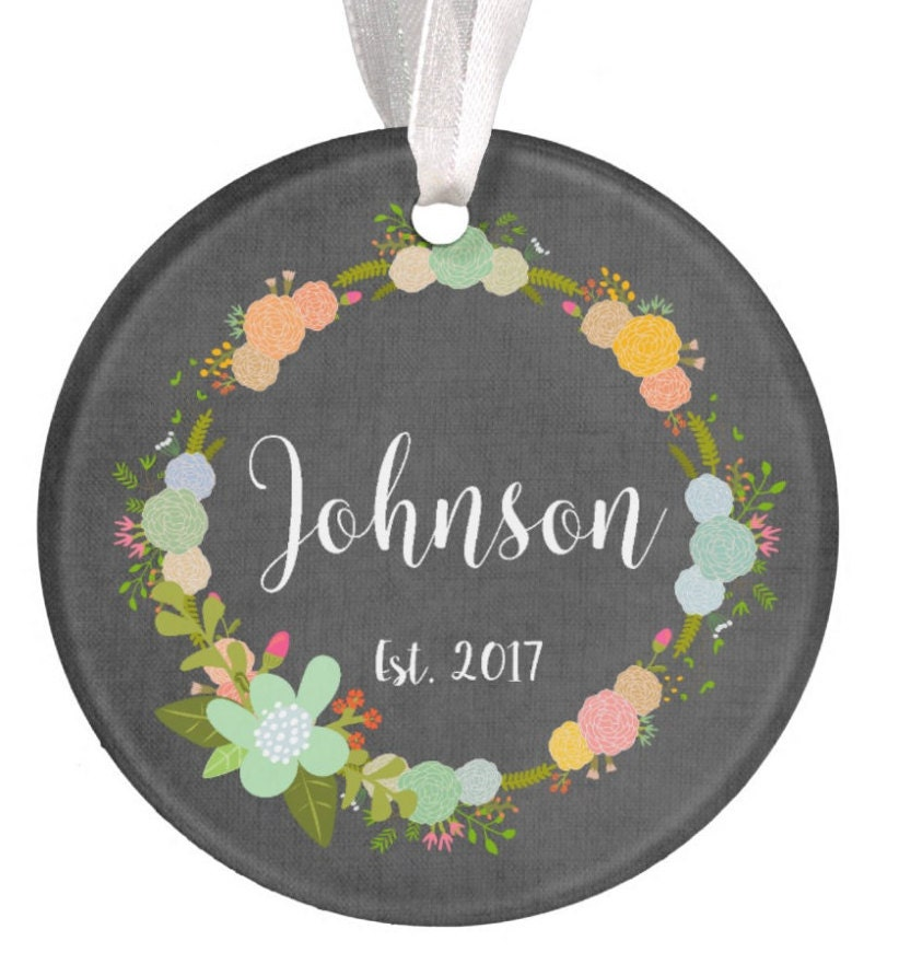 Baptism Ornament Christmas Ornament By Ryellecreations On Etsy: Personalized Welcome Home Ornament Christmas Ornament