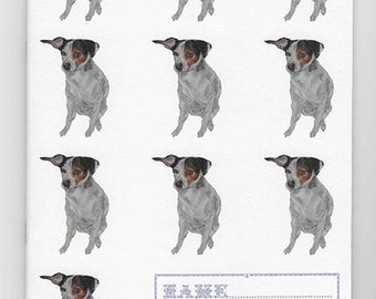 Jack Russell A5 Exercise Book