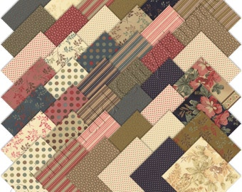 Moda Charm Packs Southern Exposure Prints by Laundry Basket Quilts 42250PP