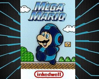Mega Mario (Nintendo x Capcom) Enamel Pin