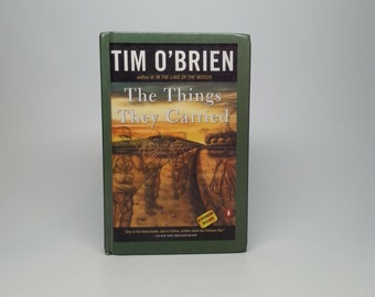 The Things They Carried by Tim O'Brien Everbind Hardcover Book