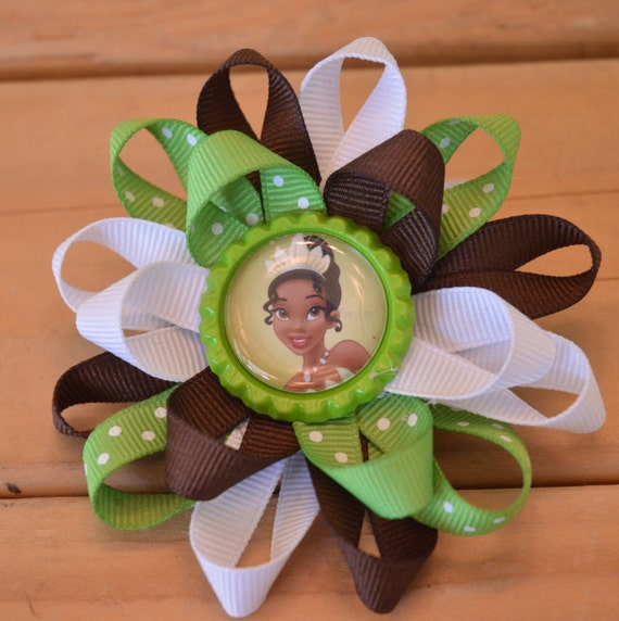Princess Tiana Hair: Items Similar To Disney's Princess Tiana Hair Bow, Disney